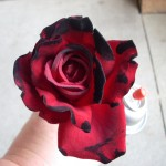 Halloween Crafts - How To Make a Dead Rose