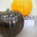 Halloween Crafts - Rhinestone Pumpkin