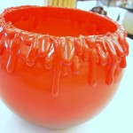 Halloween Crafts - Make a Bloody Candy Bowl