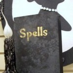 Halloween Crafts - Old Musty Spell Book
