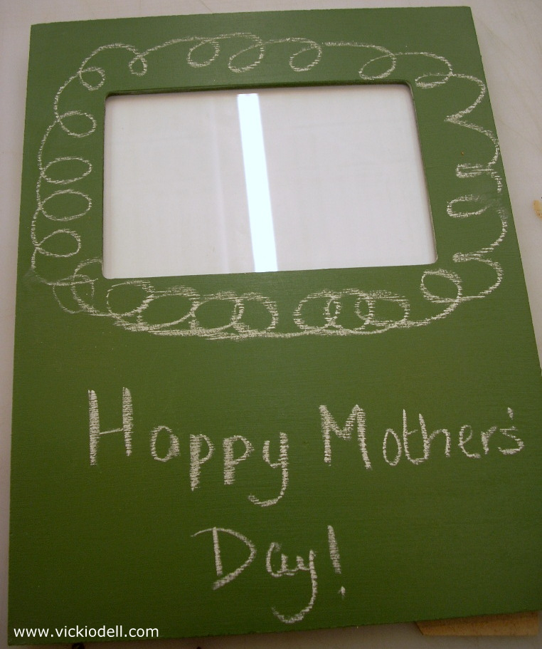 Chalkboard Photo Frame for Mother's Day