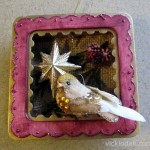 Sizzix Triple Play Blog Hop Week 4 - Framed Shadowbox Ornament