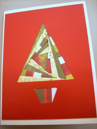 Sizzix Triple Play Blog Hop- Iris Paper Folding – Pop Up Gift Card Holder