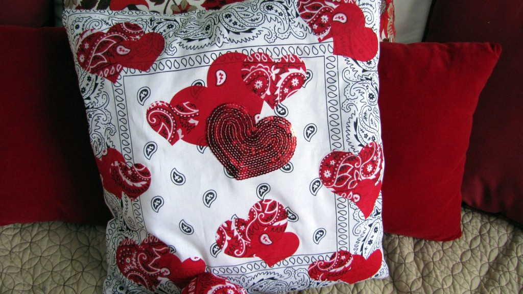 Valentine's Day Home Decor Toss Pillows