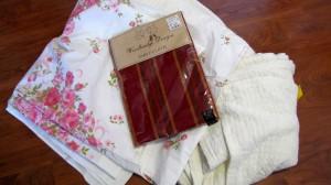 Thrifting Thursday - My Haul - Textiles