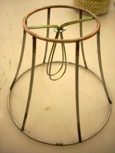Thrifting Thursday - Refurbished Lamp Shade