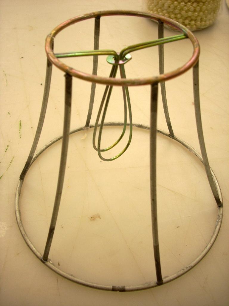 Thrifting Thursday – Refurbished Lamp Shade