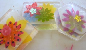 Scrapbook Supplies, Fabric Flowers and Soap Making