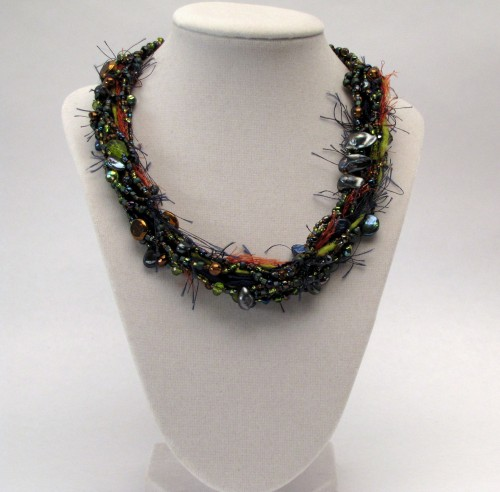 The Emmy Necklace – How To: Free Form Bead Weaving