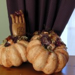 Halloween Crafts: Glamorous Paper Machè Pumpkins