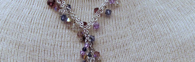 Dressy Necklace, Swarovski Crystals