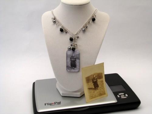 Not a Locket – Photo Keepsake Necklace with Flip Pal Mobile Scanner