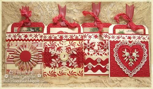 Christmas Tag Making Inspiration