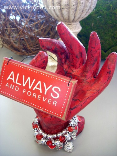 Valentine's Day Decor: The Hand of St. Valentine