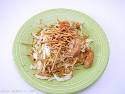Quick Week Night Chicken Recipe: Chinese Chicken Salad