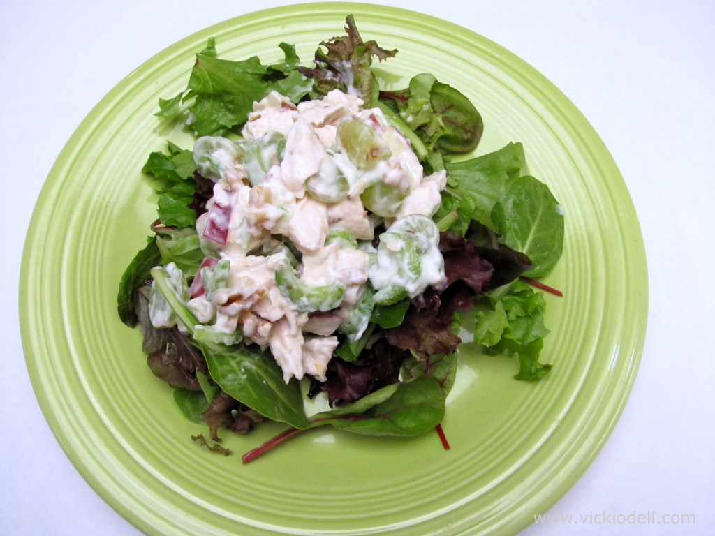 Recipe: Lite Chicken Salad