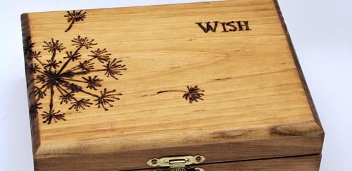 Make a Wood Burned Keepsake Box