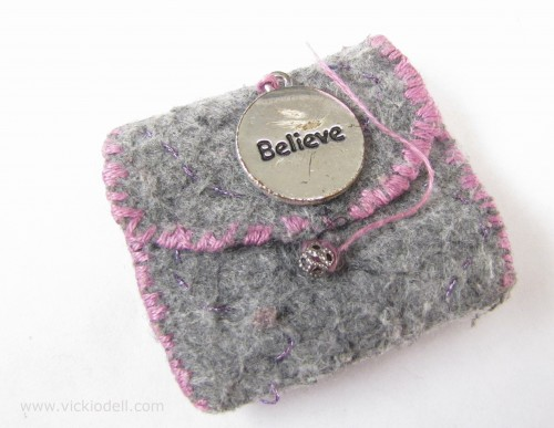 The Power of Intention: Make a Miniature Felt Bag to Help You Focus