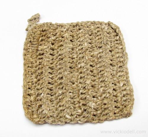 Crochet a Natural Hemp Loofah – Designer Craft Connection Blog Hop