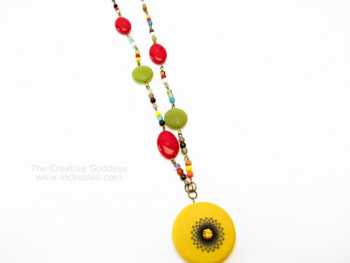 Global Vibe Necklace Tutorial