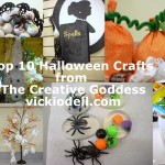 Top 10 Halloween Posts from The Creative Goddess