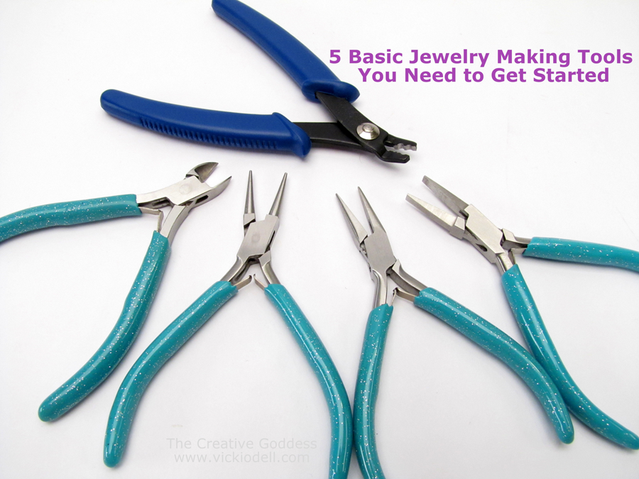Pleasing 5 Basic Jewelry Making Tools You Need To Get Started Wiring Digital Resources Sapredefiancerspsorg