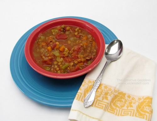 Slow Cooker Recipes: Lentil and Curry Tomato Soup