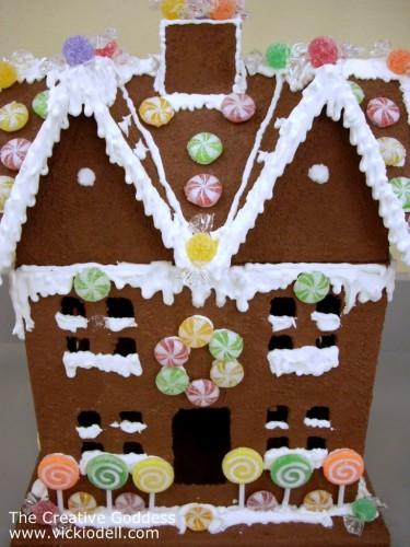 Forever Gingerbread House