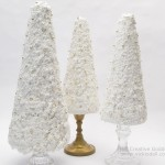 Candle Stick Table Top Christmas Trees