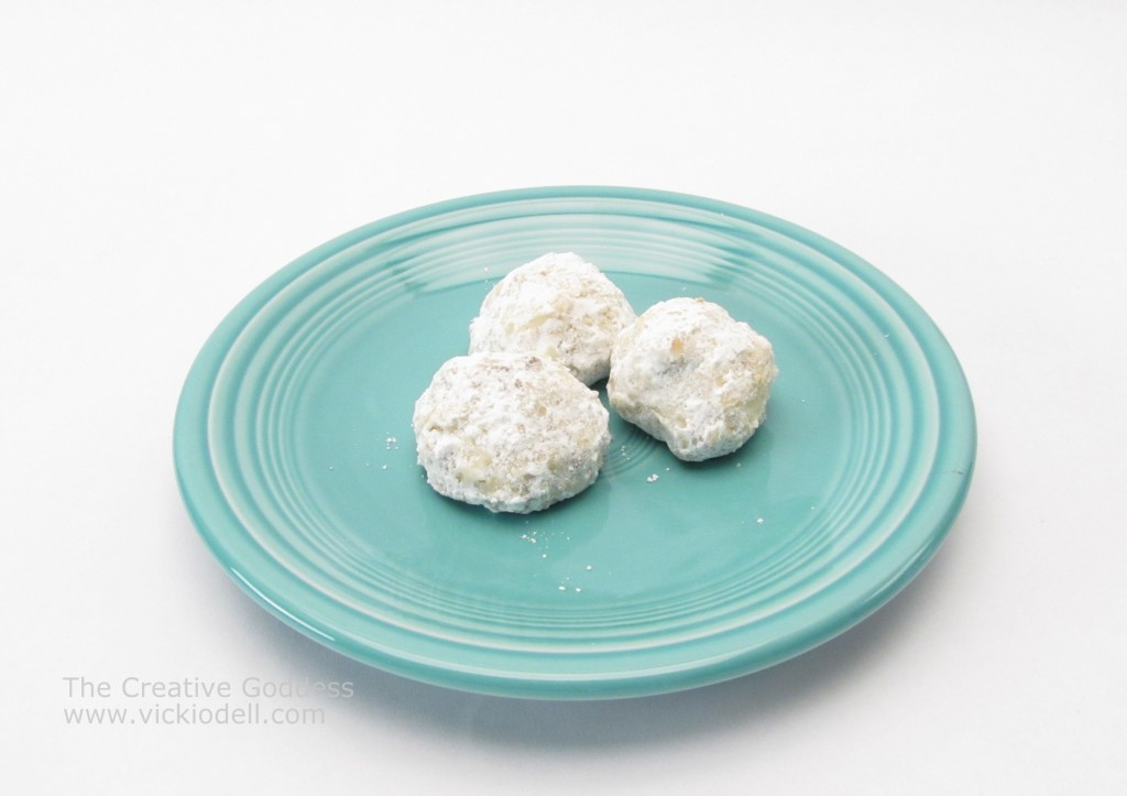Snowball Cookies, Mexican Wedding Cakes, Russian Tea Cakes
