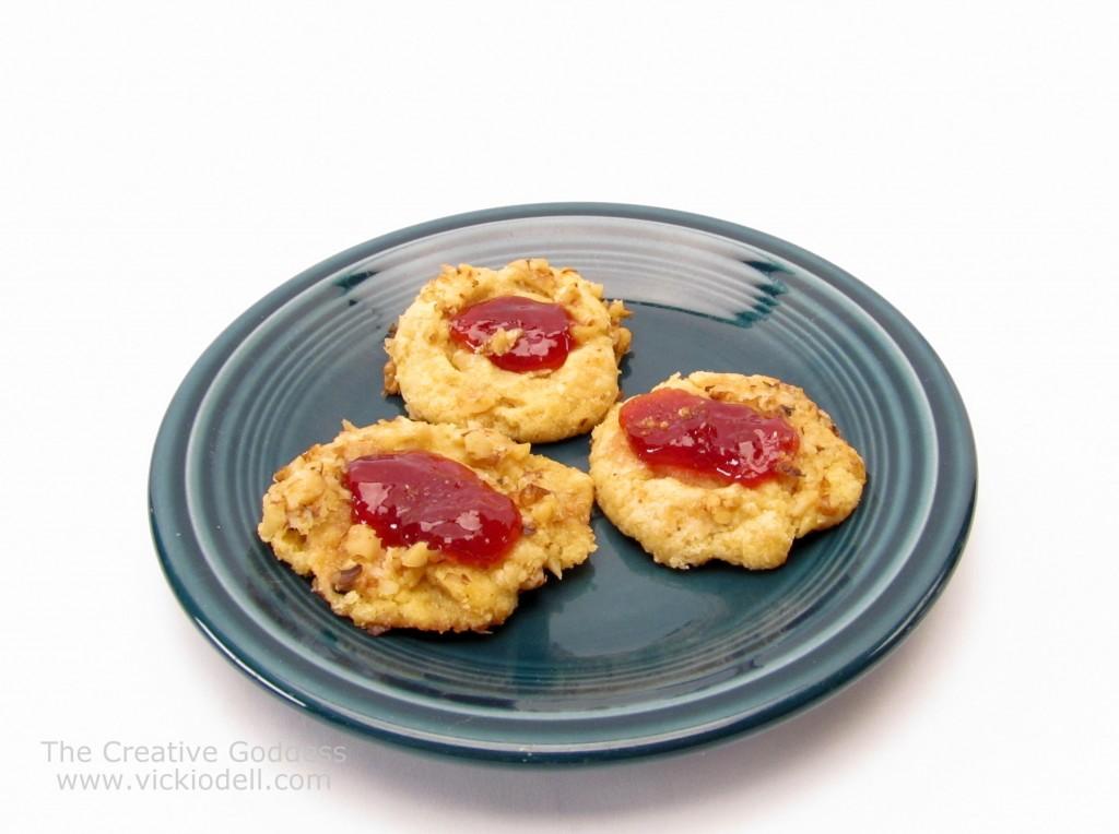Recipes: Thumb Print Cookies