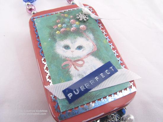 Christmas Gift Card Tin and Ornament