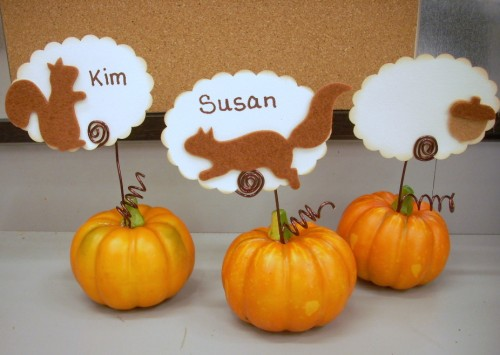 9 Thanksgiving Placecards And Favors To Make Vicki Odell