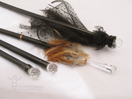 Witch Wands for Halloween