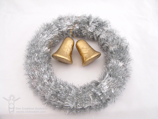 Vintage Inspired Bell Wreath