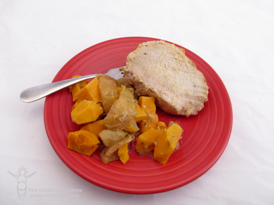 Roasted Pork Tenderloin with Sweet Potatoes and Apples - Vicki O'Dell ...
