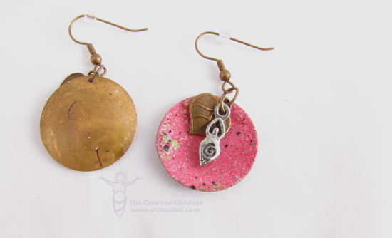 ICED Enamel Earrings