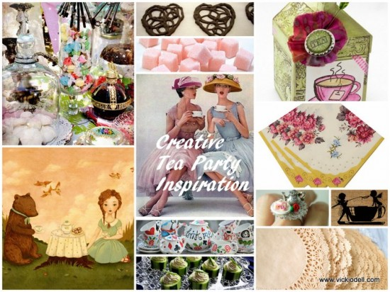 Creative Tea Party Inspiration