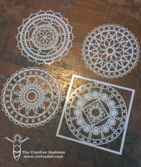 The Crafter's Workshop Stencils