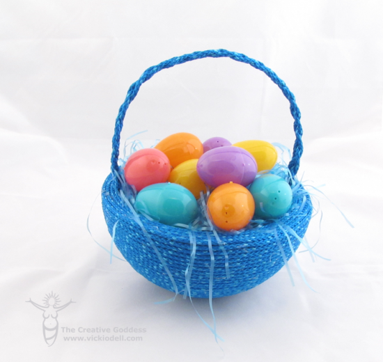 Last Minute DIY Easter Basket