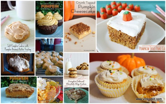 11 Delicious Pumpkin Dessert Recipes
