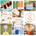 10 Free Thanksgiving Printables