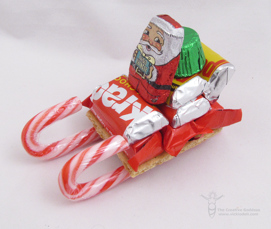 Candy Cane Sleighs with Dollar Tree's Value Seekers Club