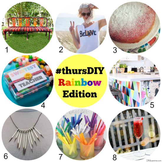 8 Colorful DIY Projects for the Weekend