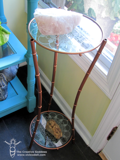 Plant Stand Makeover from the 127 Yard Sale