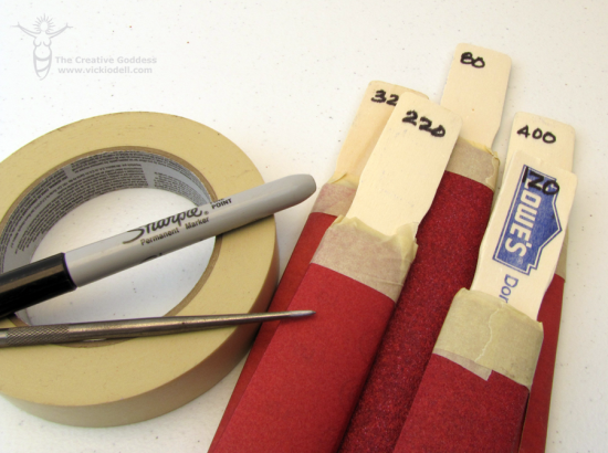 Sanding Sticks for Jewlery Making DIY Projects and Crafts