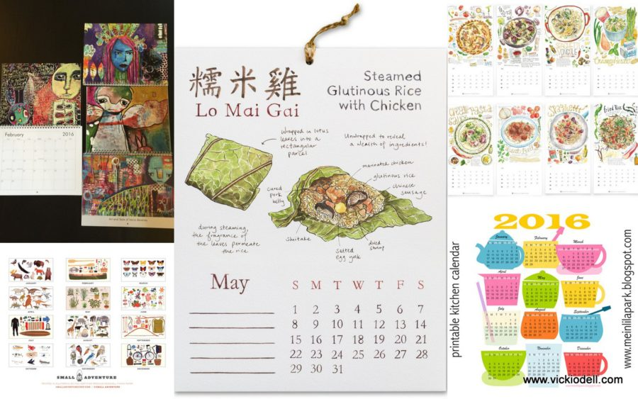 Calendar Art : Annual art calendar round up vicki odell