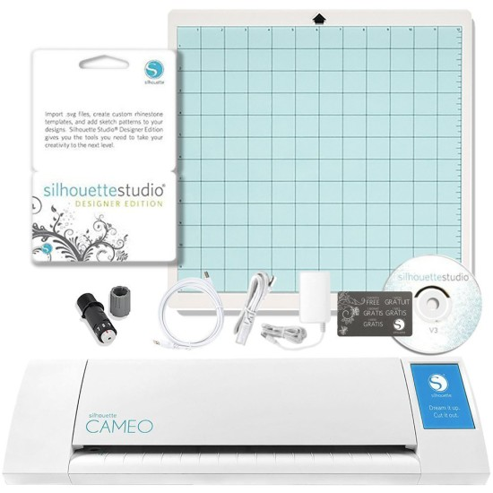 Holiday Gift Guide for the Crafter - Silhouette Cameo Digital Craft Cutter with Silhouette Studio Designer Edition Software