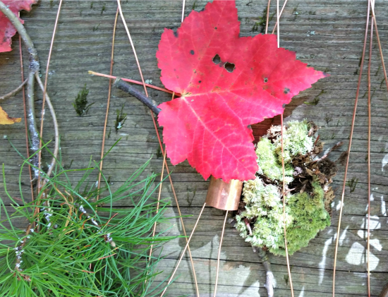 Found Object Art – Nature Weaving