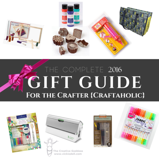 The Ultimate Holiday Gift Guide for the Crafter {Craft-a-holic}